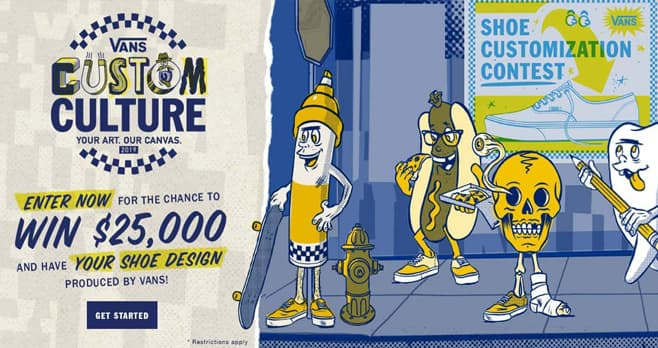 Vans Custom Culture Shoe Design Contest