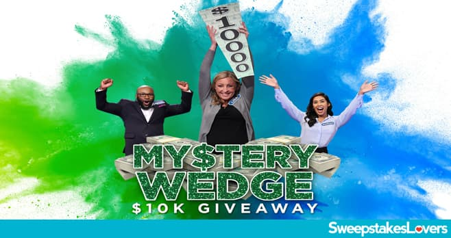 Wheel of Fortune Mystery Wedge $10K Giveaway 2020