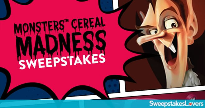 Box Tops for Education Monsters Cereal Sweepstakes