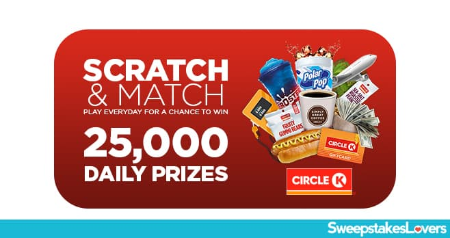 Circle K Scratch and Match Instant Win Game