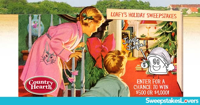 Country Hearth Breads Loafy's Holiday Sweepstakes