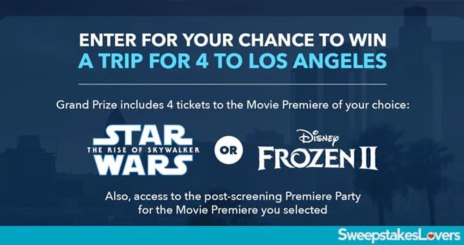 Disney Movie Premiere Sweepstakes