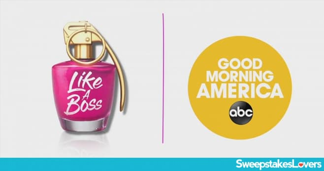 Good Morning America Like a Boss Contest