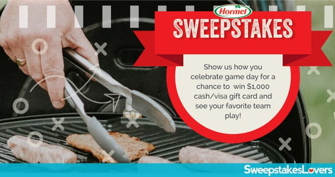HORMEL Game Day Sweepstakes