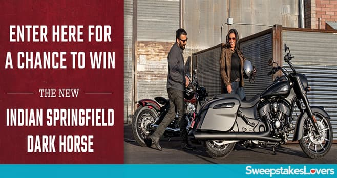 Indian Motorcycle Indian Springfield Dark Horse Sweepstakes