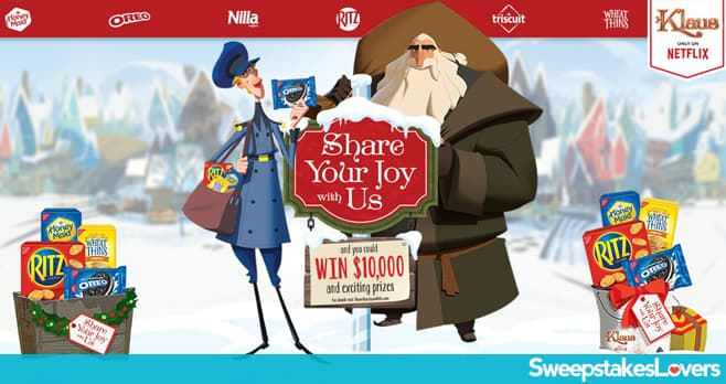 NABISCO Share Your Joy With Us Sweepstakes