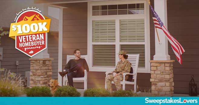 REALTOR.COM New Home for the Holidays $100K Veteran Homebuyer Giveaway