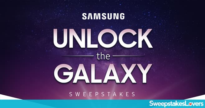 Samsung Unlock the Galaxy Sweepstakes