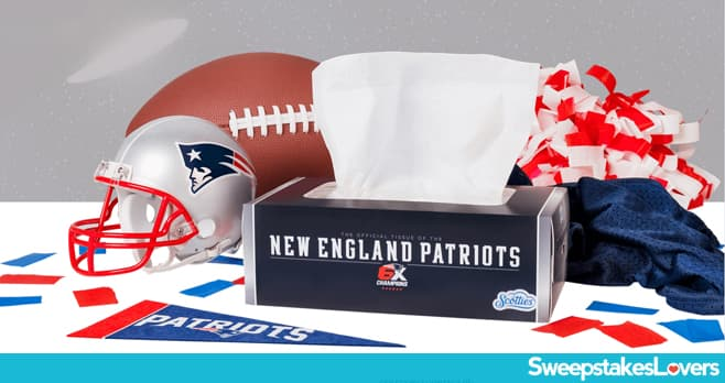 Scotties New England Patriots Sweepstakes