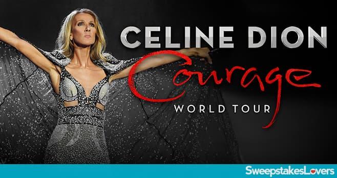 Sirius XM Celine Dion Tour Sweepstakes