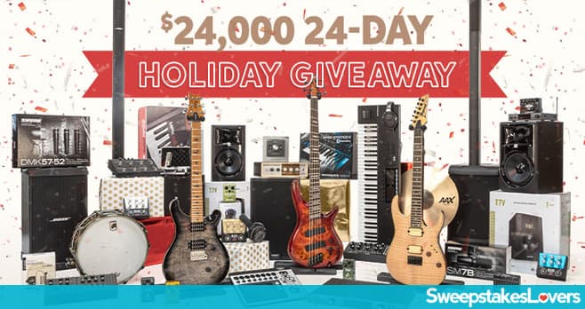 Sweetwater Holiday Giveaway