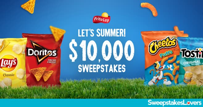 Tasty Rewards Let's Summer $10,000 Sweepstakes 2020