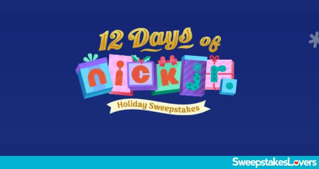 12 Days of Nick Jr Holiday Sweepstakes 2020