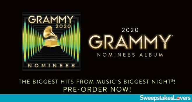 2020 GRAMMY Nominees Album Flyaway Sweepstakes