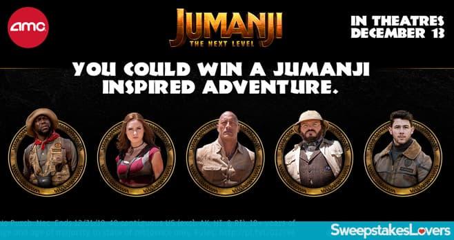 AMC Theatres Jumanji Ticketing Game