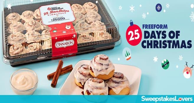 Cinnabon 25 Days of Christmas Sweepstakes (Cinnabon.com/25DaysOfChristmas)