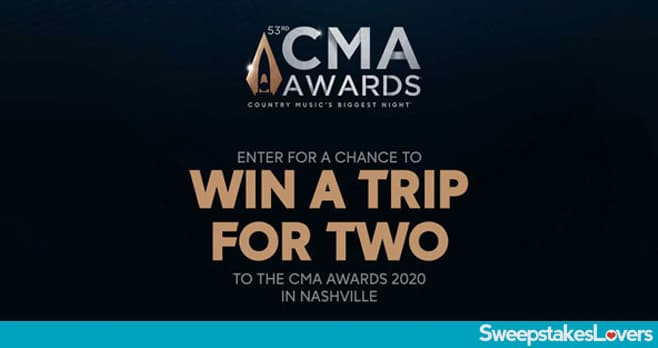 CMA Awards 2020 Sweepstakes