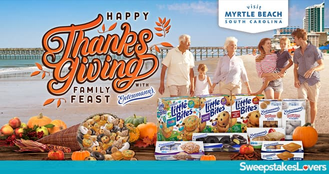 Happy Thanksgiving Family Feasts With Entenmann's Sweepstakes