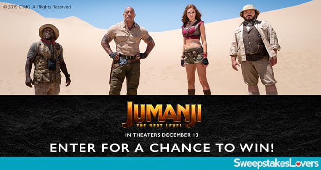 Jumanji The Next Level Giveaway