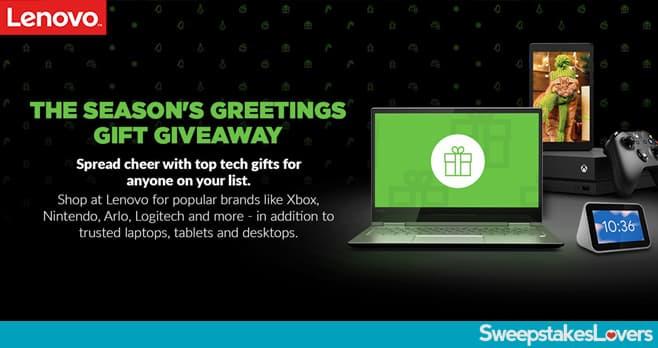 Lenovo Holiday Sweepstakes