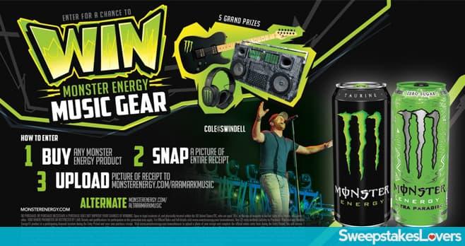 Monster Energy Guitar Sweepstakes