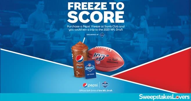 Pepsi Freeze Sweepstakes at Sam's Club