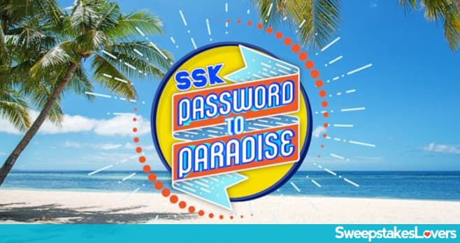 Strahan Sara And Keke Password to Paradise Contest