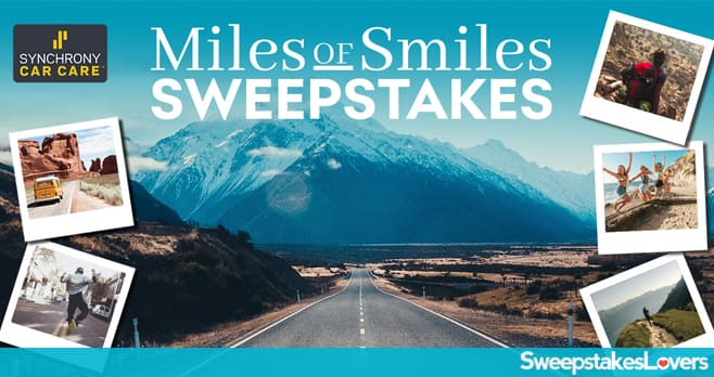 Synchrony Miles of Smiles Sweepstakes