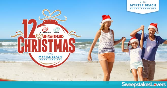 Visit Myrtle Beach 12 Days of Christmas Sweepstakes