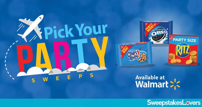 Walmart Pick Your Nabisco Party Sweepstakes