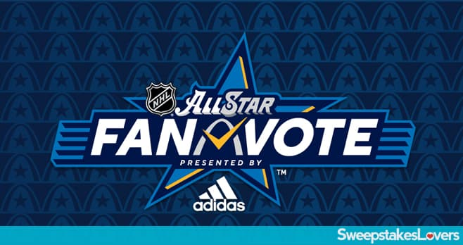 2020 NHL All-Star Fan Vote Sweepstakes