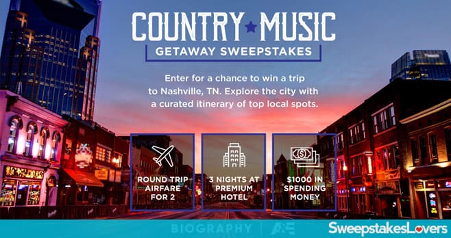 A&E Country Music Sweepstakes