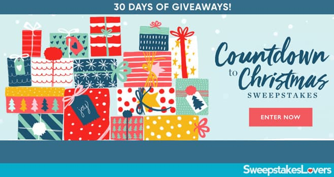 Better Homes and Gardens Countdown to Christmas Sweepstakes 2019