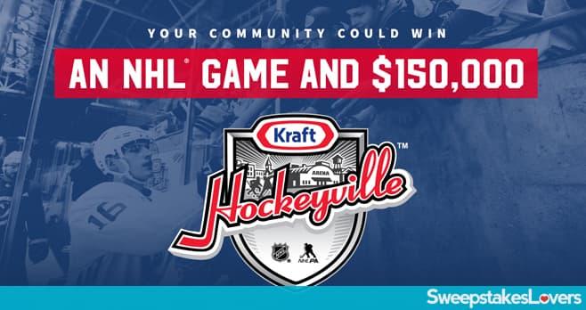 Kraft Hockeyville USA 2020 Sweepstakes