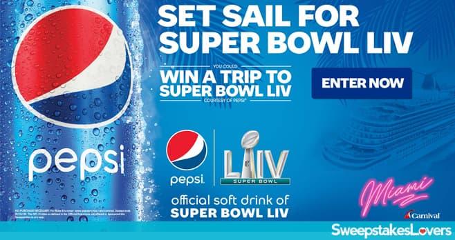 Pepsi Super Bowl LIV Sweepstakes at Carnival