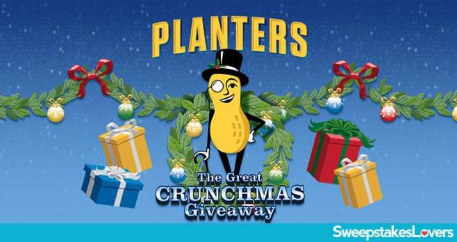 Planters Great Crunchmas Giveaway