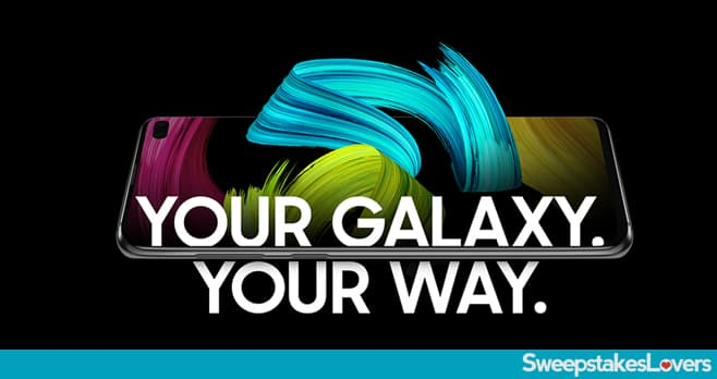 Samsung Rewards Your Phone Your Way Sweepstakes