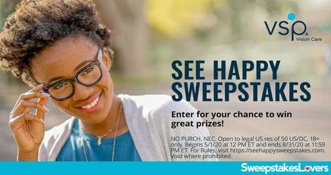 VSP See Happy Sweepstakes 2020