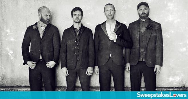 SiriusXM Coldplay in Los Angeles Sweepstakes