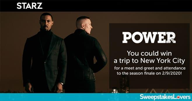 Starz Power Finale Sweepstakes (StarzPowerFinaleSweepstakes.com)