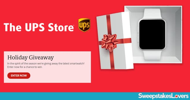 UPS Store Holiday Giveaway 2019