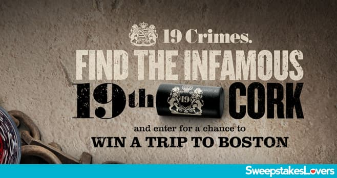 19 Crimes Find The 19th Cork Sweepstakes 2021