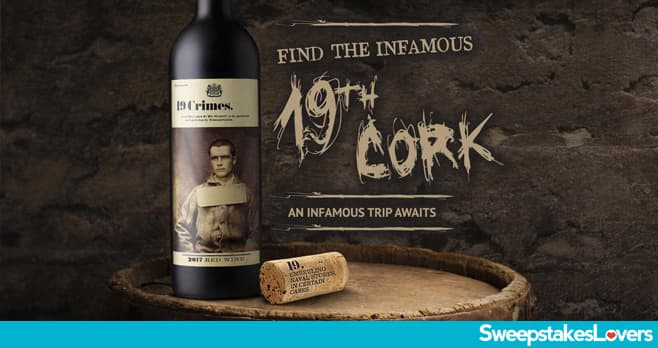 19 Crimes Find the 19th Cork Sweepstakes 2020