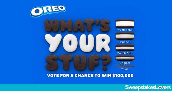 Oreo 'The Stuf Inside' Instant Win Game (Over 1 Million ...