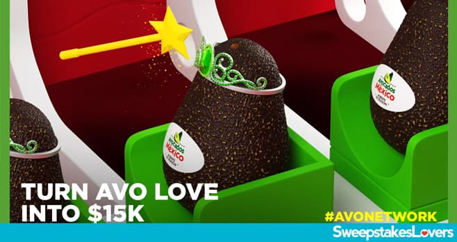 Avocados From Mexico Big Game Sweepstakes 2020