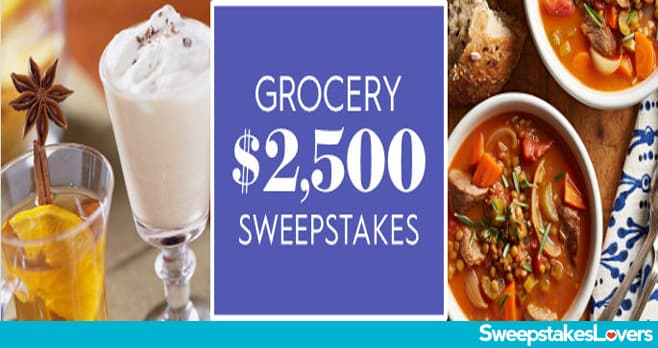 Bhg 2 500 Grocery Sweepstakes 2020 Sweepstakes Lovers You Won