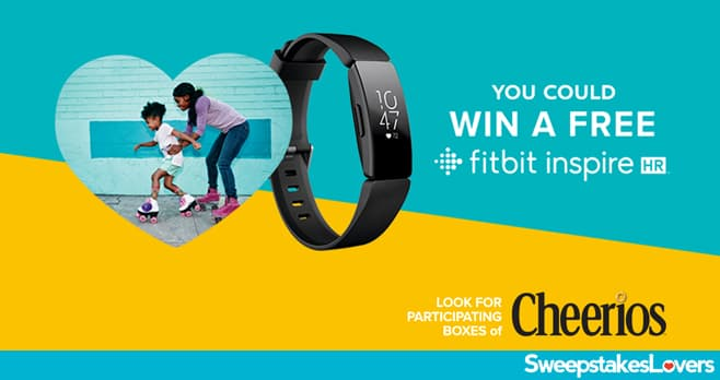 Cheerios Fitbit Instant Win Game 2020