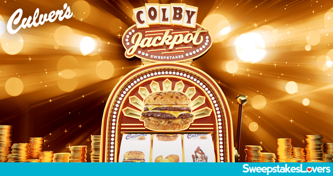 Culver's Colby JackPot Sweepstakes 2020