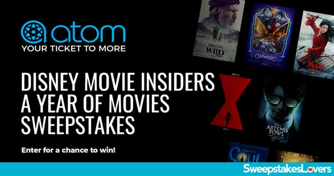 Disney Movie Insiders A Year Of Movies Sweepstakes 2020