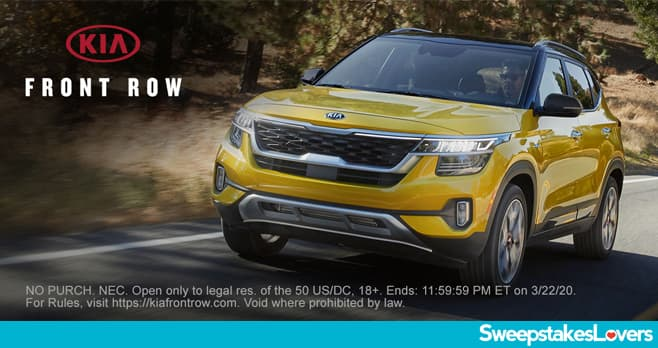 Kia Front Row Sweepstakes 2020
